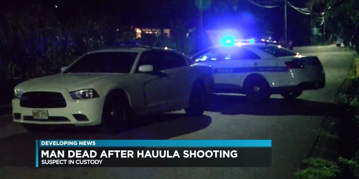 Suspect arrested in deadly Hauula shooting