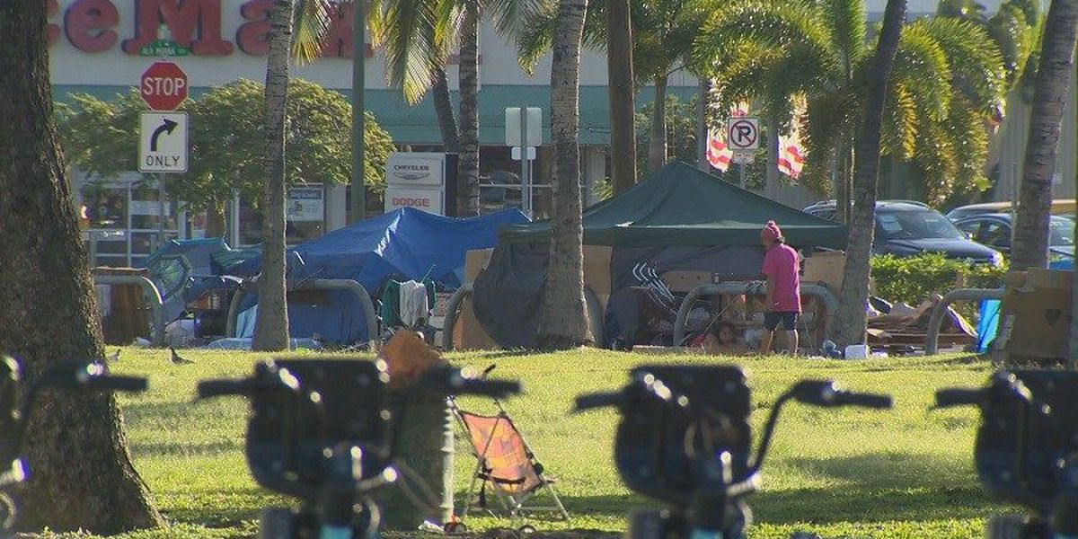 Honolulu store struggles with influx of homeless people
