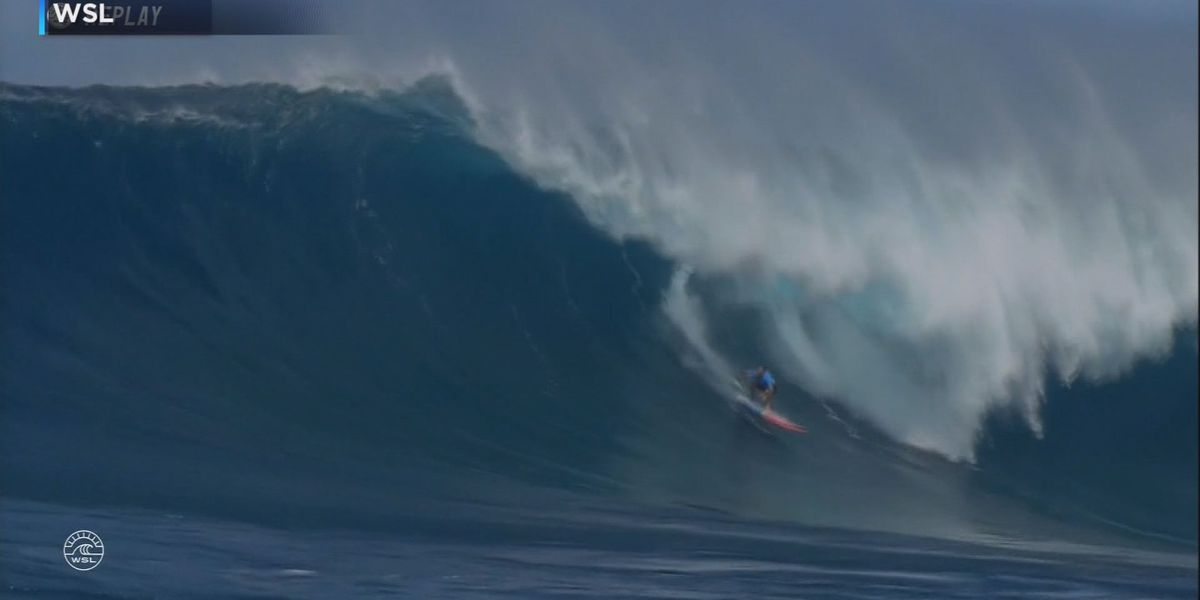 Billy Kemper headlines surfers advancing to semifinals of WSL Pe'ahi Challenge