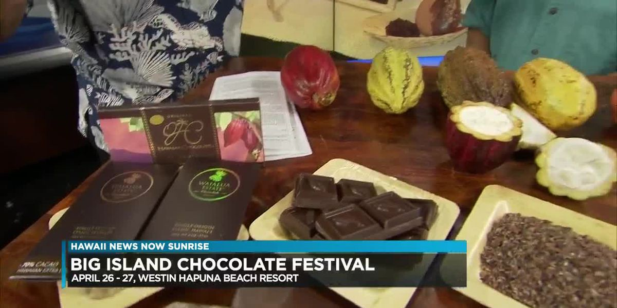 Prepare to indulge: The Big Island Chocolate Festival is happening soon!