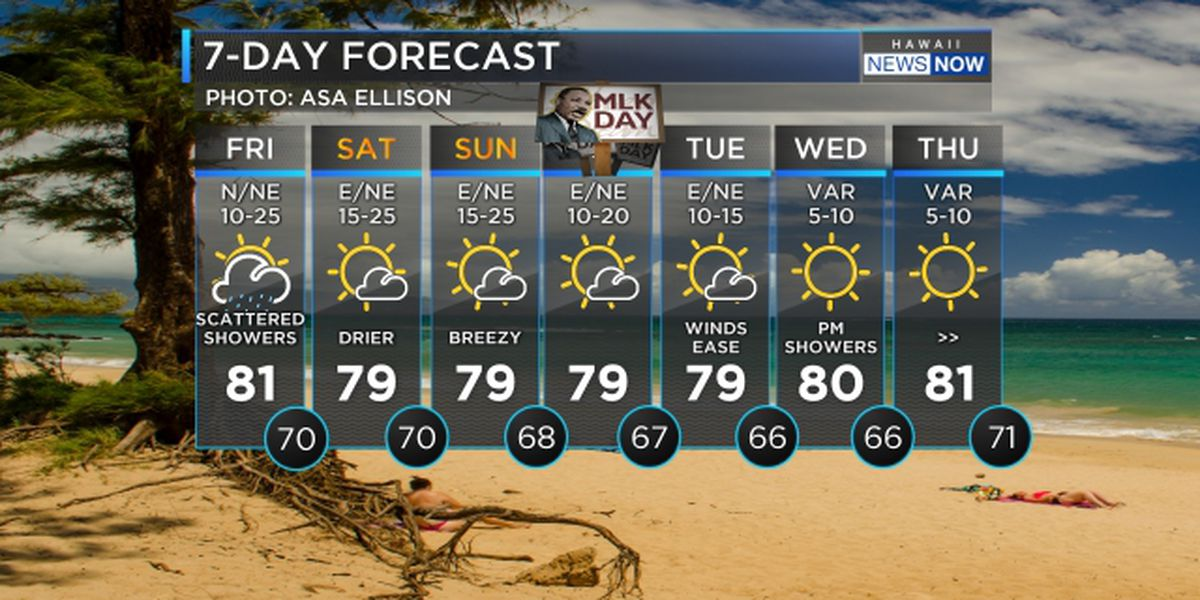 Forecast: Cold front passing over the state, drier conditions this weekend