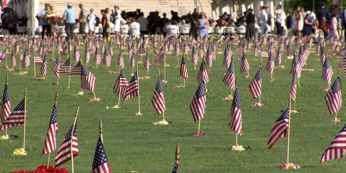 At cemeteries across the state, a Memorial Day unlike any other