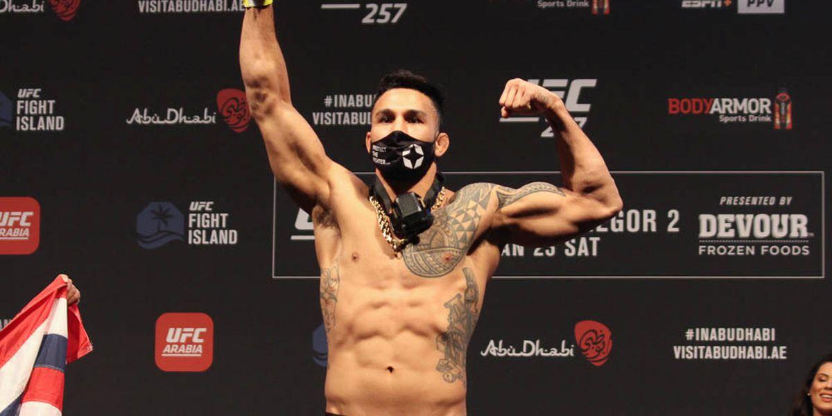 Hawaii's Brad Tavares returns to octagon victorious at UFC 257