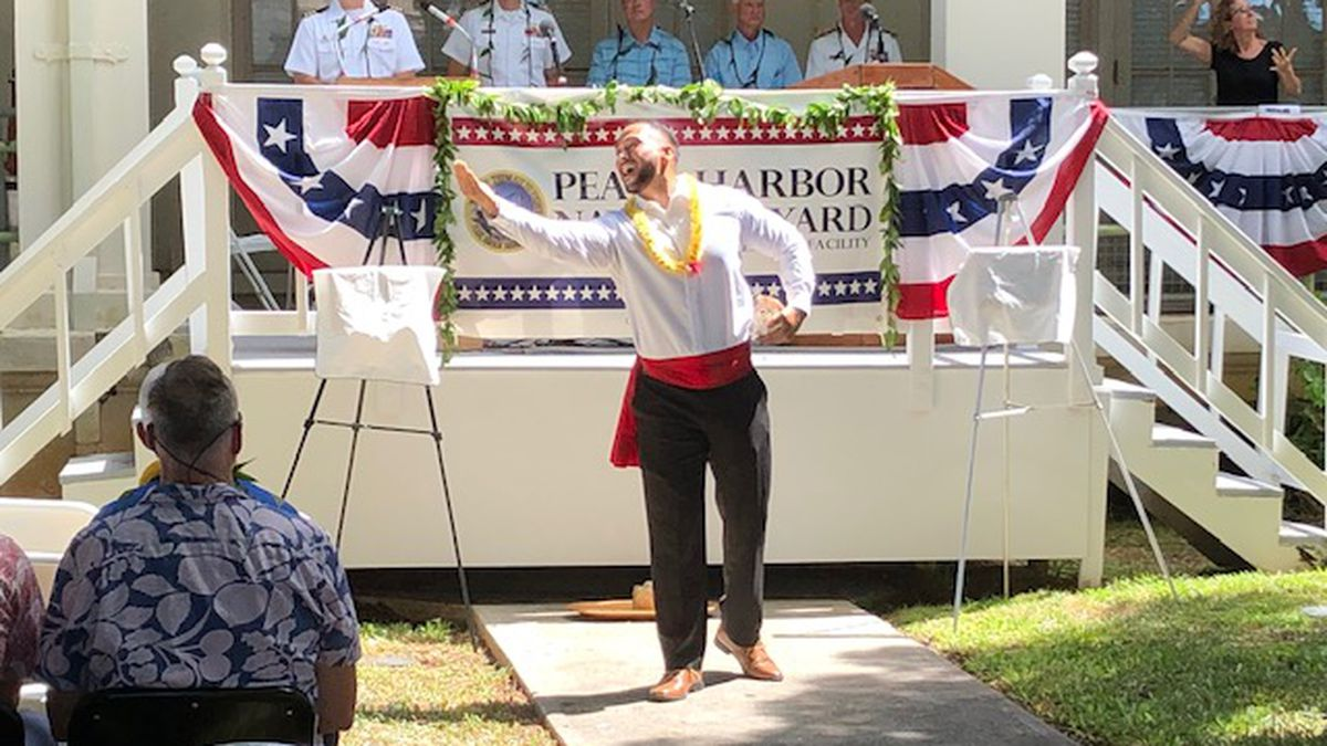 A Pearl Harbor dry dock with an 'incredible story' gets a centennial celebration