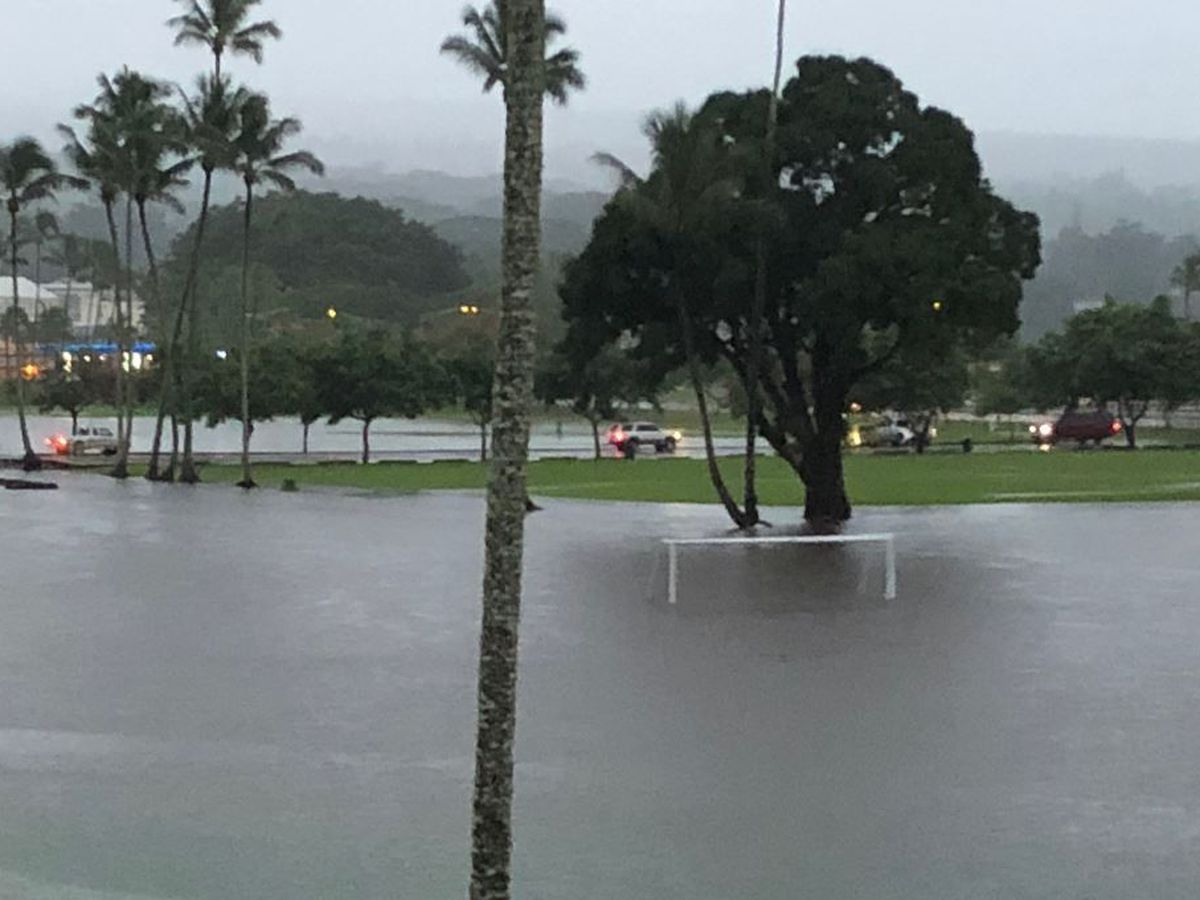 Heavy rain, flooding possible this week; weather alerts posted for parts of the state