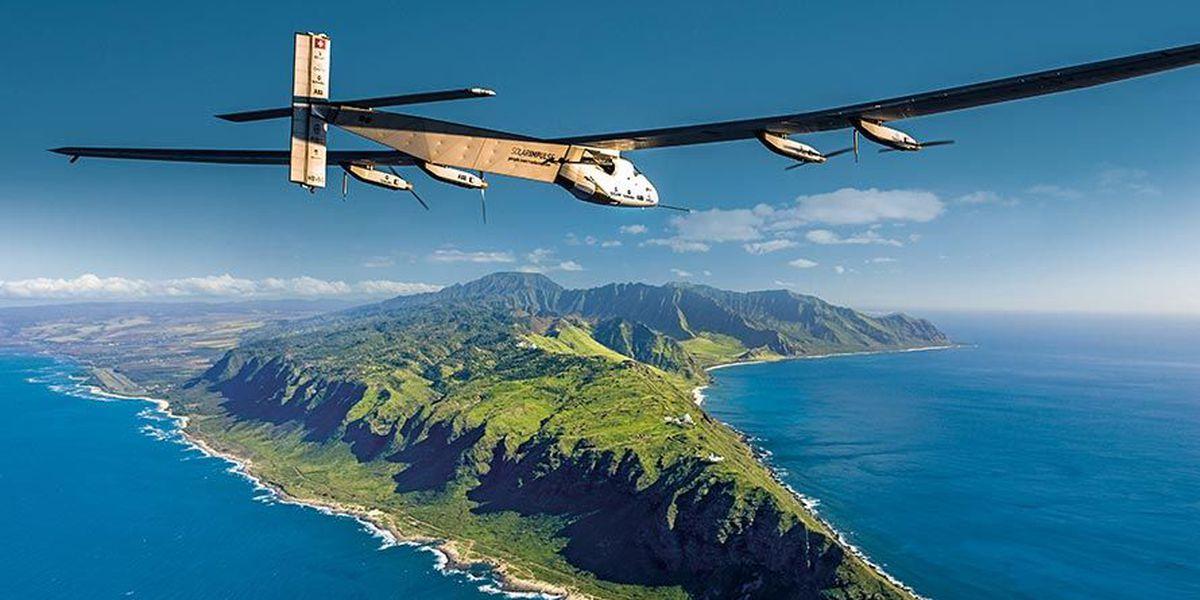 BLOG: Solar-powered plane flies toward Hawaii on longest leg of worldwide voyage