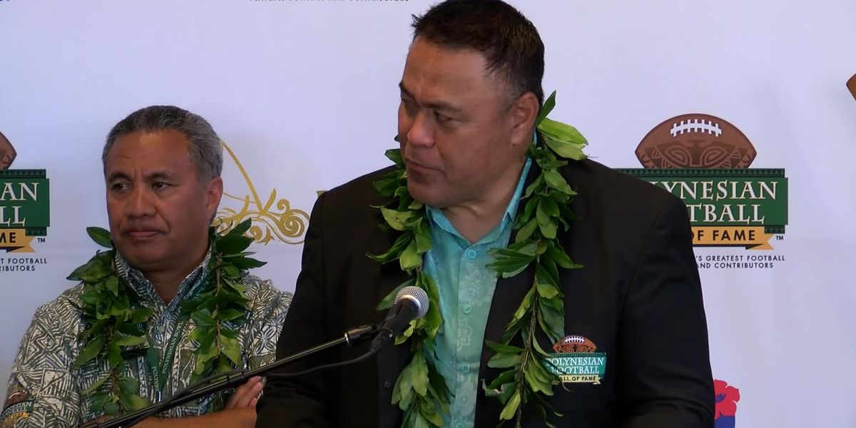 WATCH: Polynesian Football Hall of Fame Press Conference