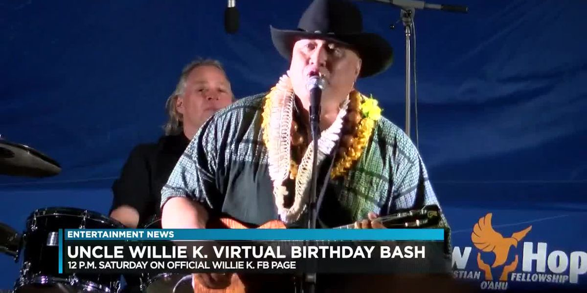 Entertainment: Virtual tribute for Willie K planned for this weekend