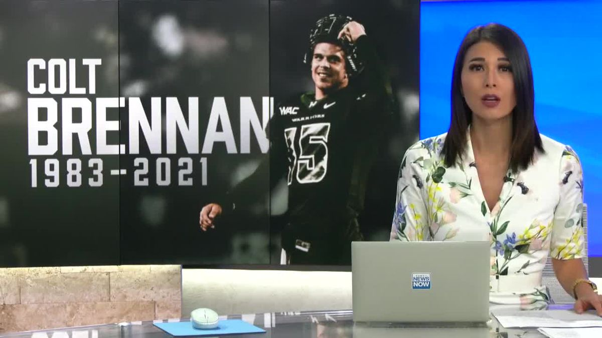 Fans remember Colt Brennan as a star on and off the field