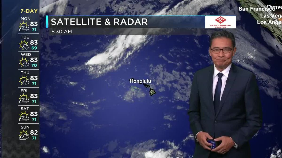 HNN Morning Web Weather Monday, May 3, 2021