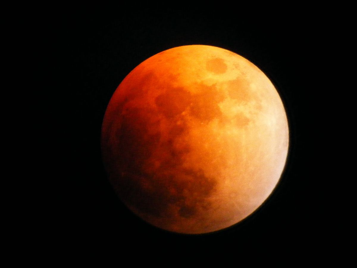 Head to the east side to catch a glimpse of a lunar eclipse happening tonight