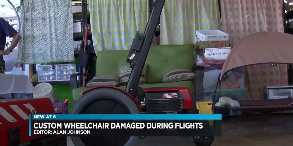 Custom Wheelchair Damaged During Flights