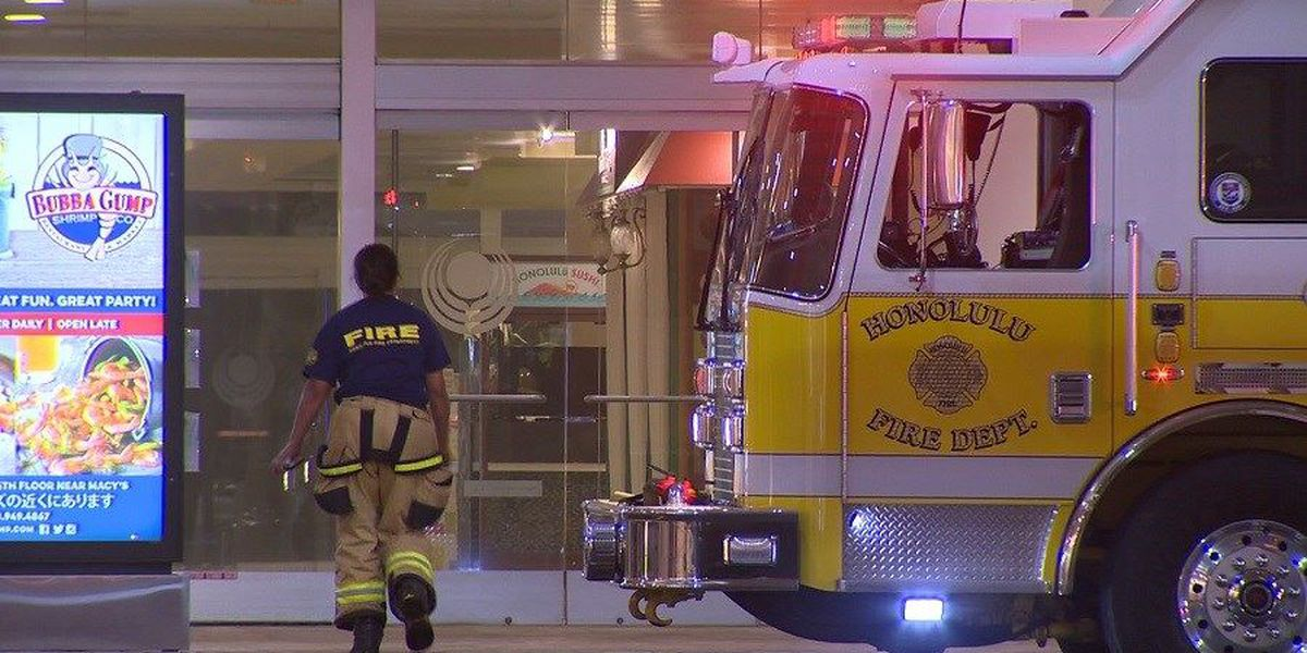 HFD: Fire at Ala Moana Center food court ruled accidental
