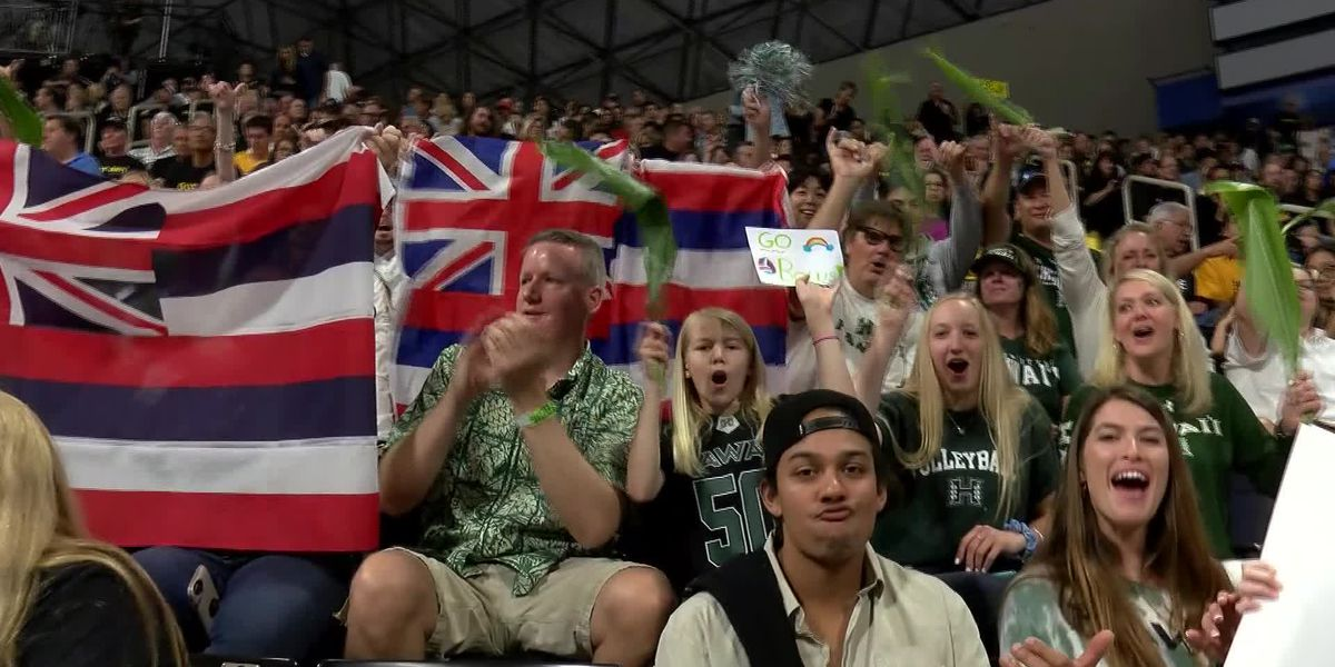Warrior volleyball fans react to the end of a historic season