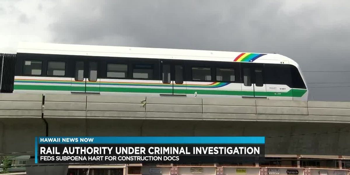 Federal grand jury subpoenas rail authority documents as part of criminal investigation