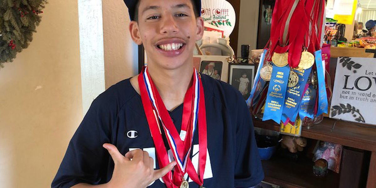 This athlete with tons of heart is headed to the Special Olympics World Games