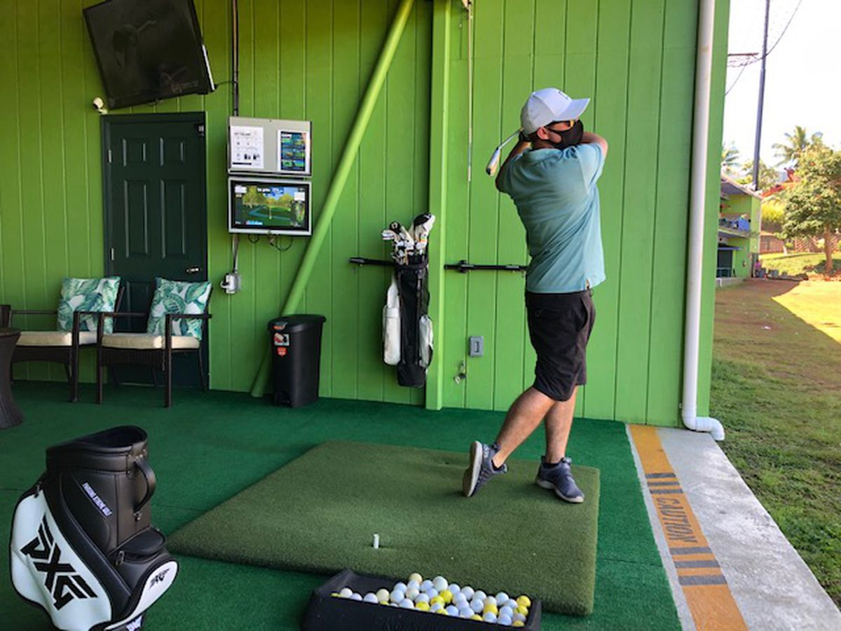 Bay View's driving range scores with addition of ball tracking system