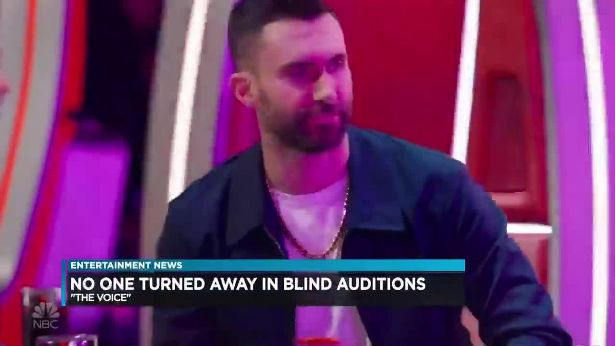 The Voice: No one turned away in blind auditions