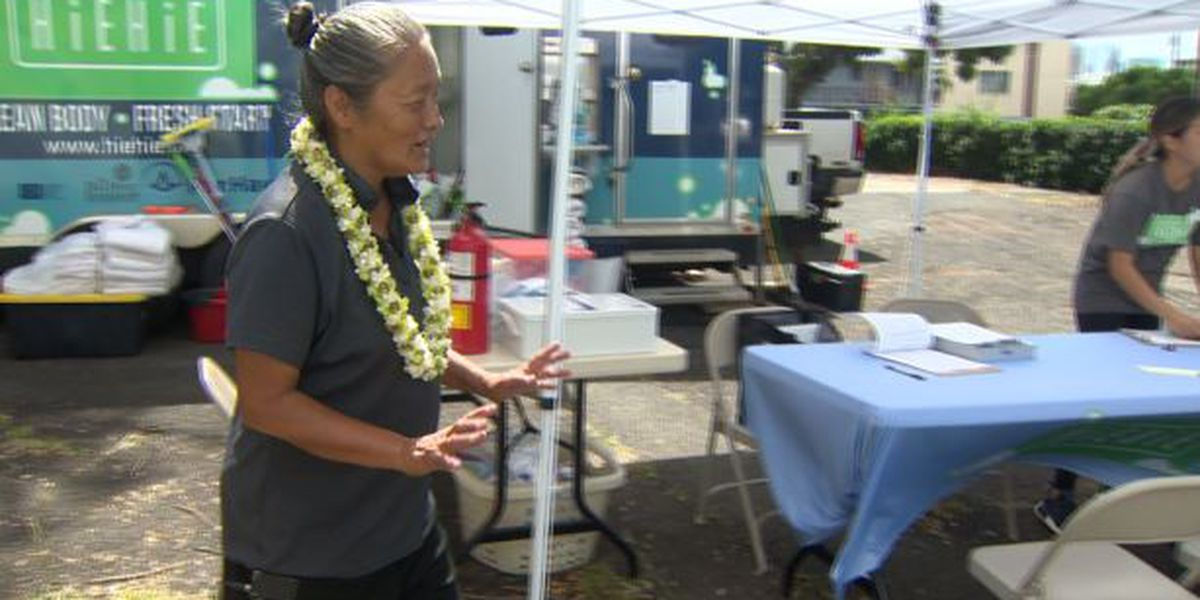 Homeless woman turned a drive to help others into a job ... and a path off the streets