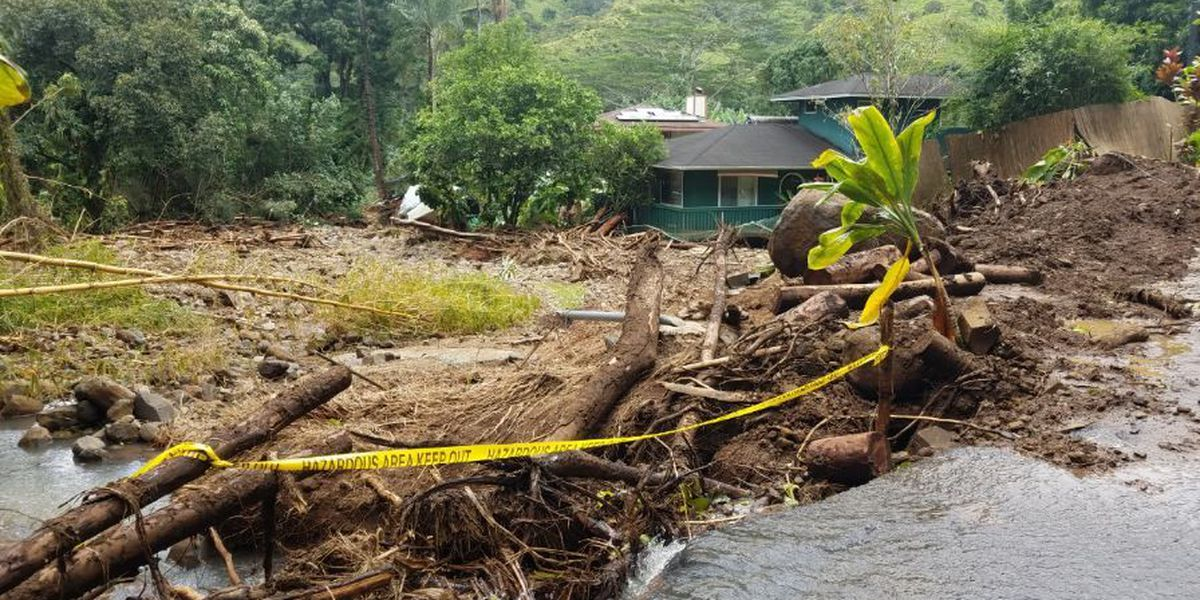 Medical team deployed to Kauai amid concerns about dirty floodwaters