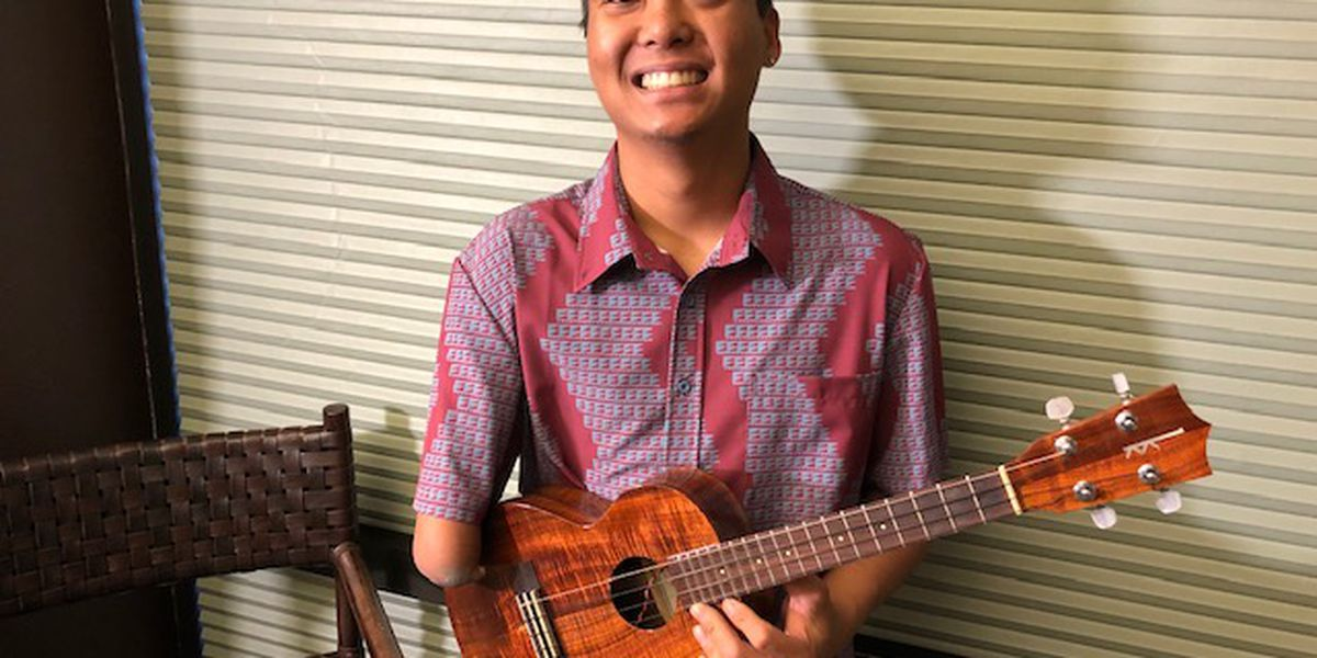 A one-of-a-kind ukulele talent proves 'anything is possible'