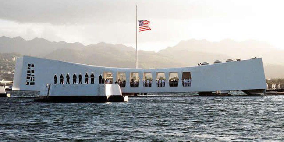 68th anniversary of Pearl Harbor attack commemorated