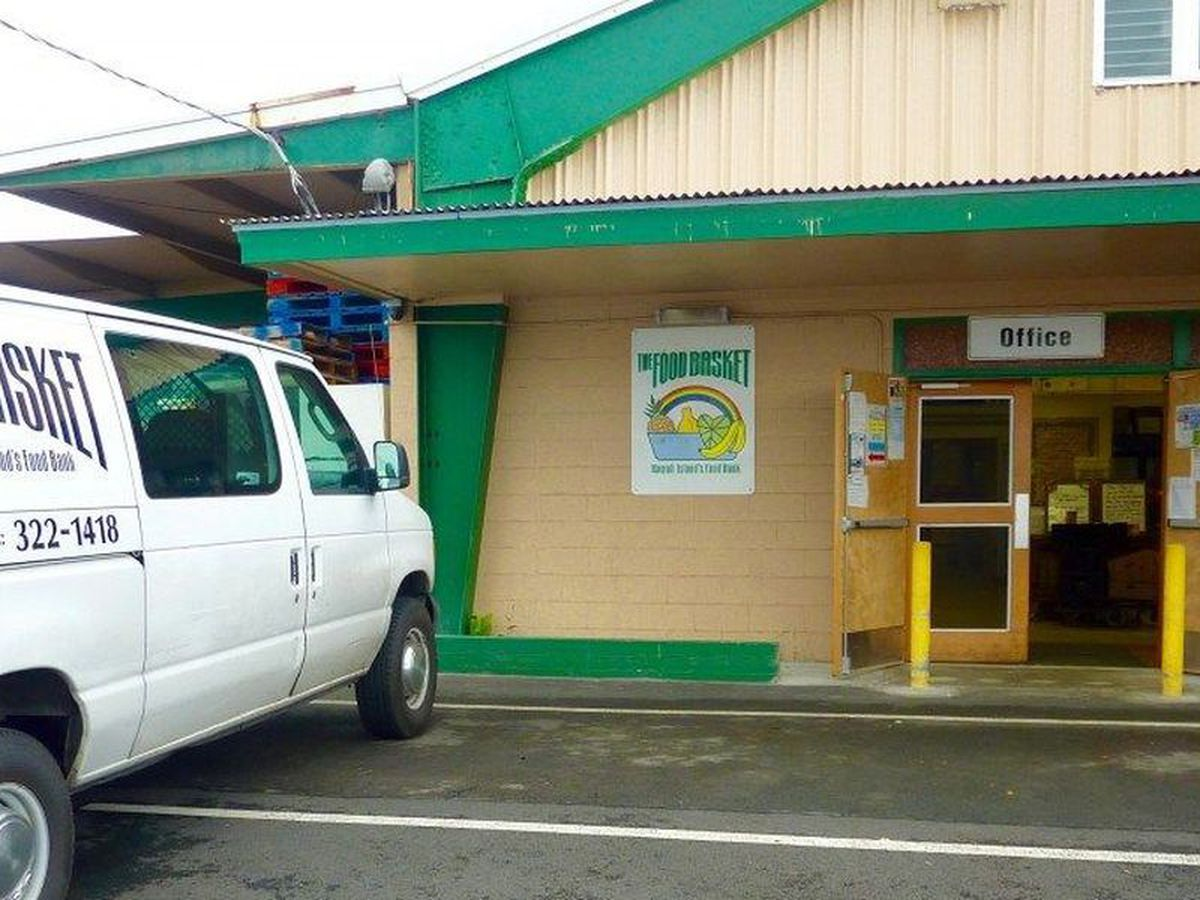 Big Island food bank serving 80K people monthly during pandemic