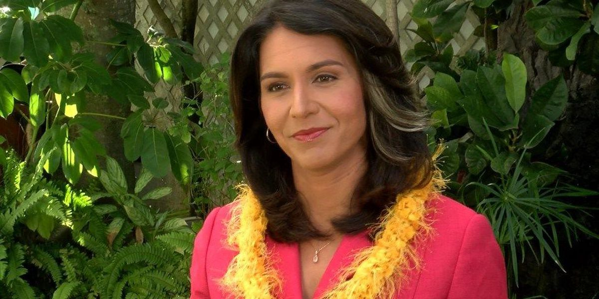 Trump meets with Hawaii's Gabbard as he looks to fill cabinet