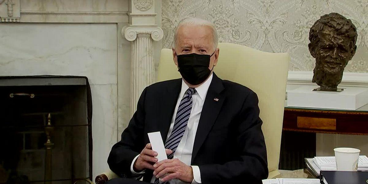 Biden meets with GOP senators as infrastructure talks deepen