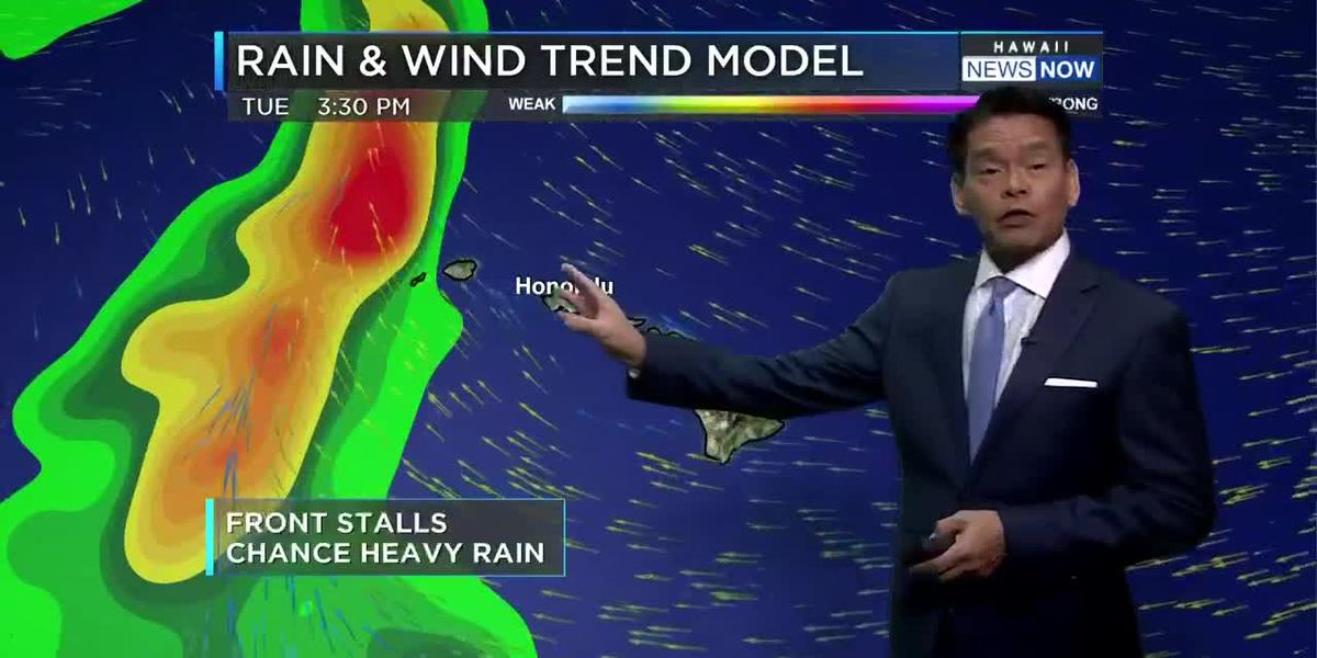 Forecast: Winds, showers start to ease up, but more rain around midweek