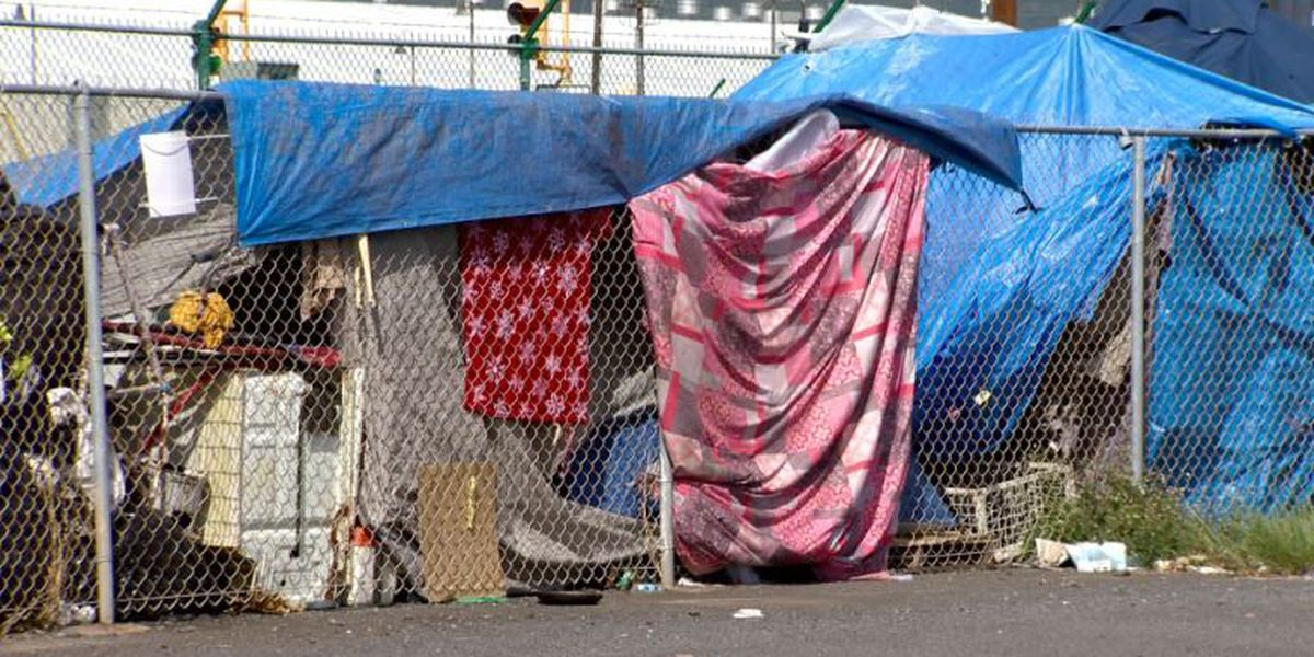State to sweep encampment that's cropped up just outside a homeless shelter