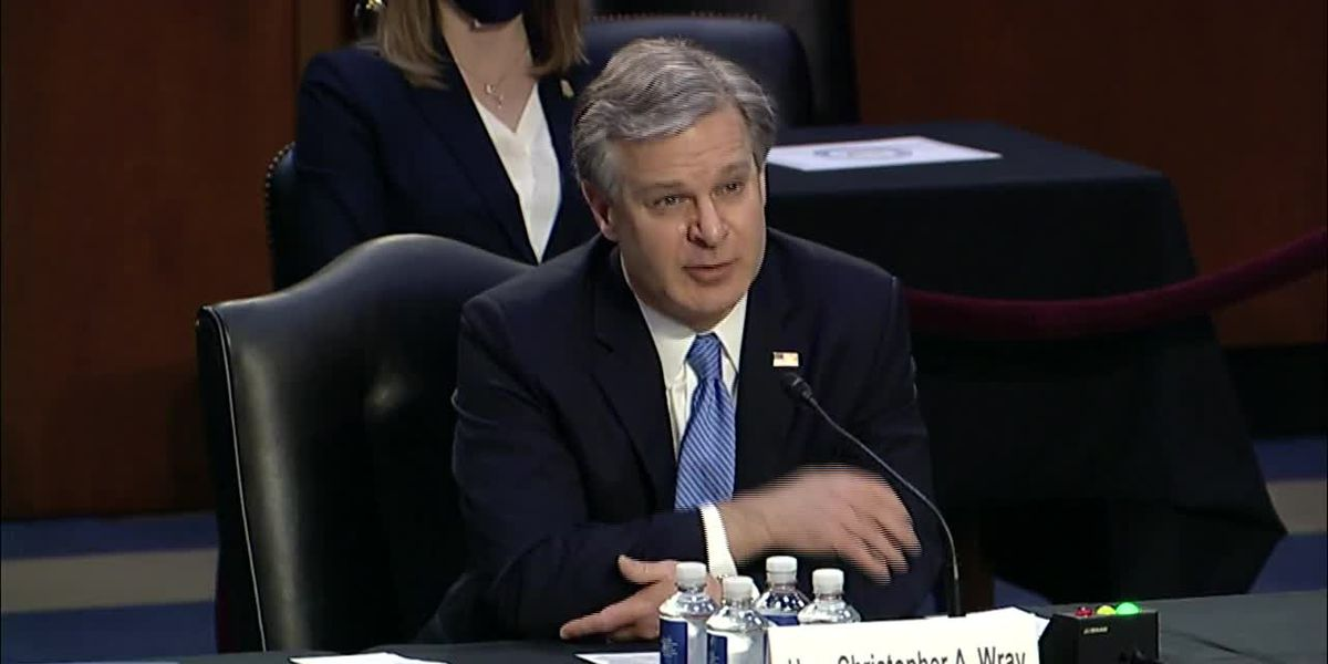 FBI director grilled on Capitol attack