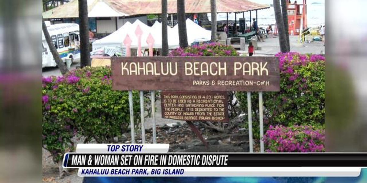Big Island police open attempted murder investigation after 2 critically burned