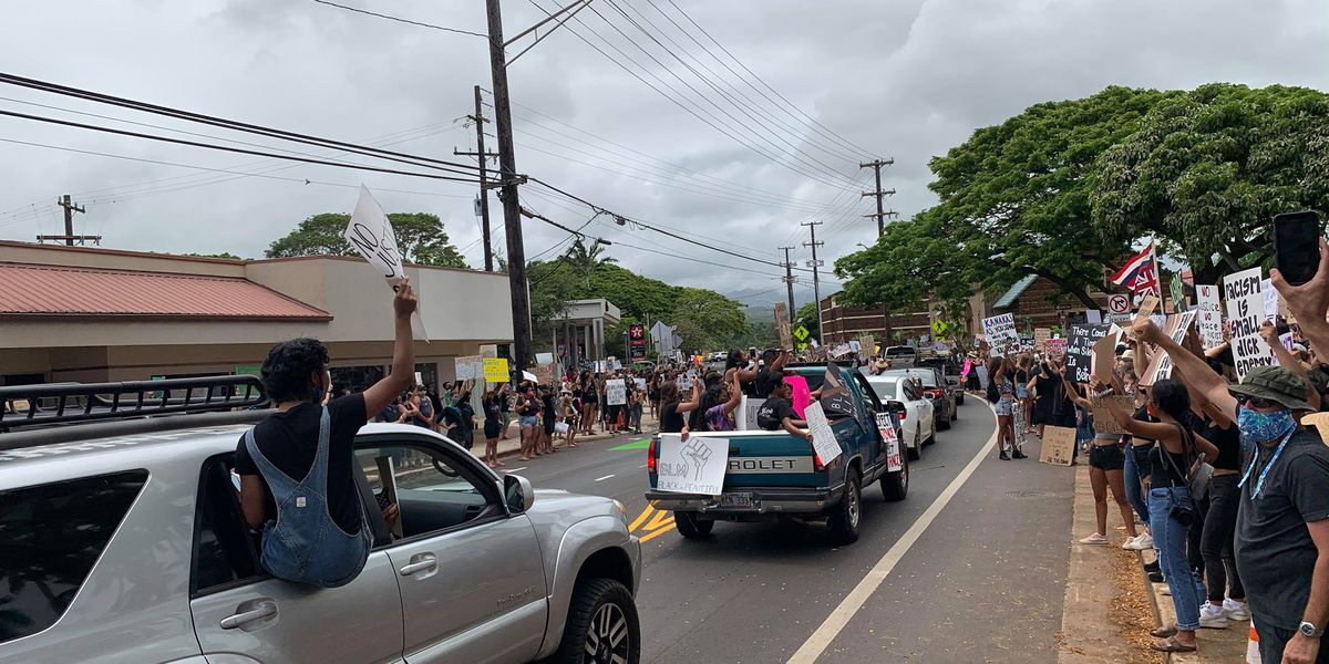 PHOTOS: Hawaii Black Lives Matter protests draw thousands statewide