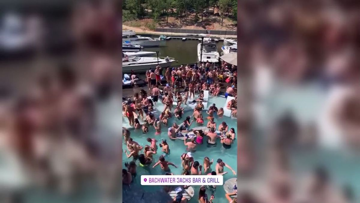 Partygoer at Missouri's Lake of Ozarks tests positive for COVID-19