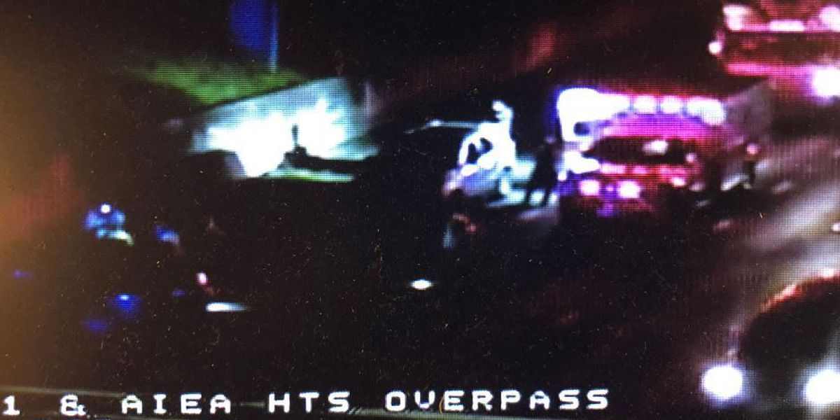 All lanes of the H-1 freeway in Aiea reopen after crash