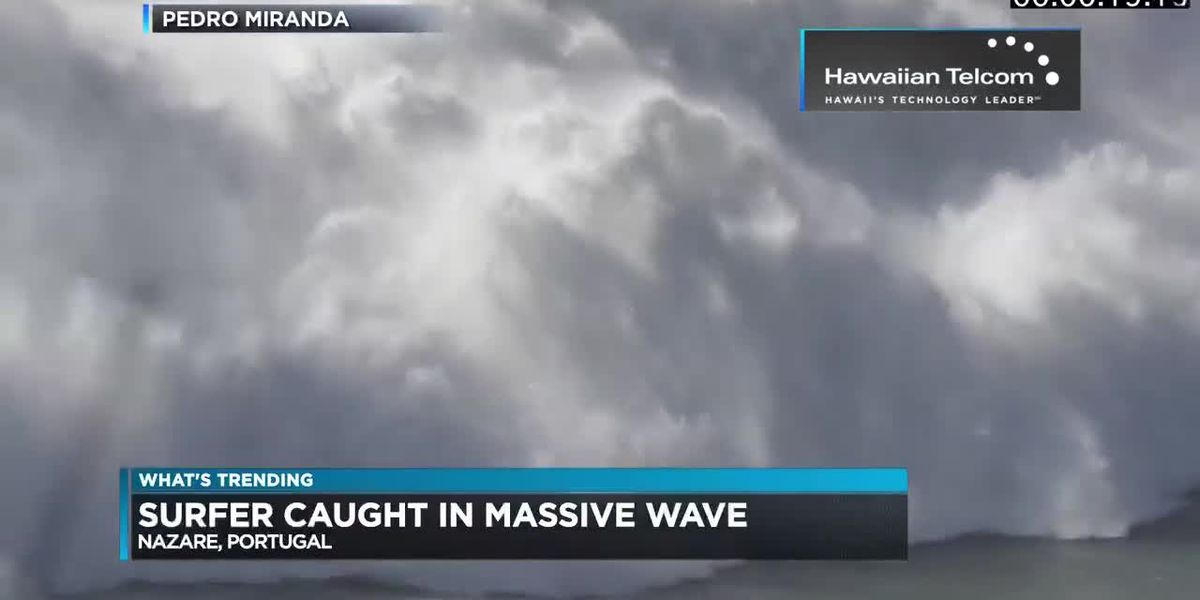 What's Trending: A mom's victory speech and a surfer wipes out on a massive wave