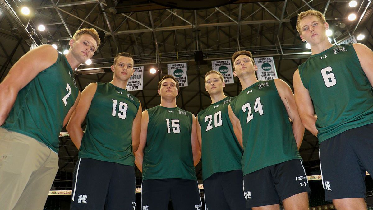 Top-ranked UH men's volleyball to honor six seniors in final home series against UC Irvine