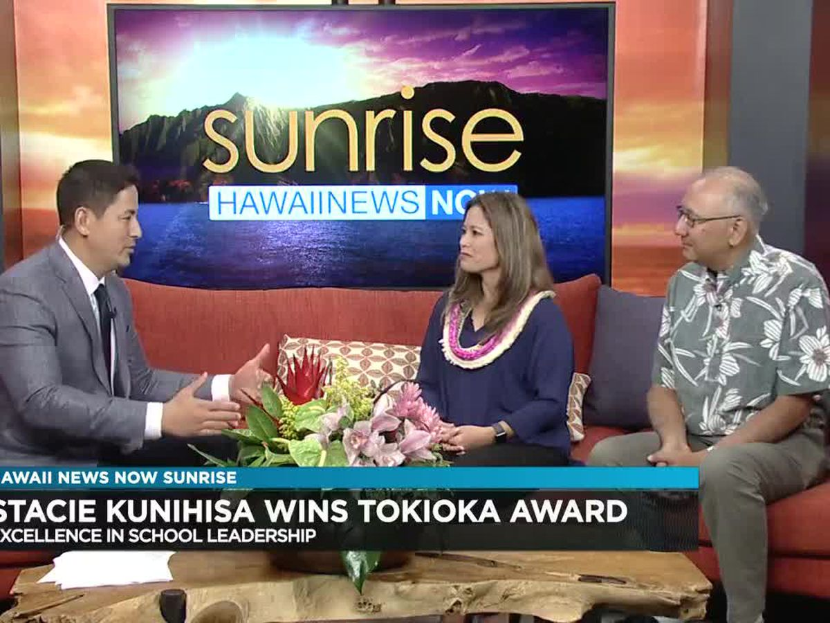 Kanoelani Elementary School Principal wins Leadership Award