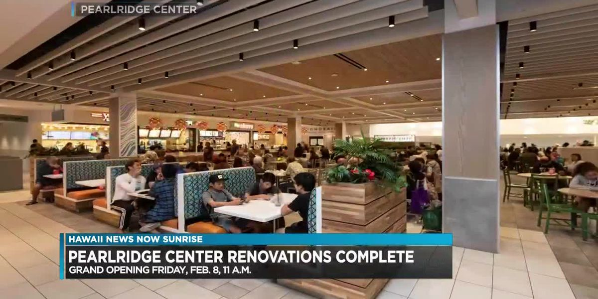 Pearlridge mall to have grand opening for East and West sections