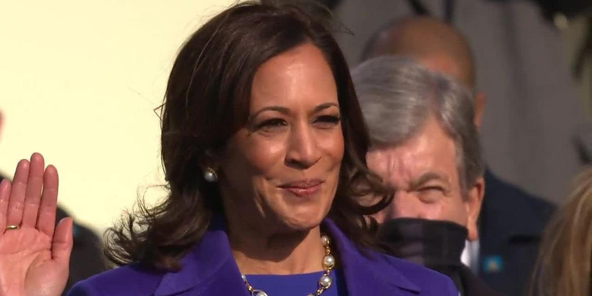 RAW: VP Kamala Harris sworn in