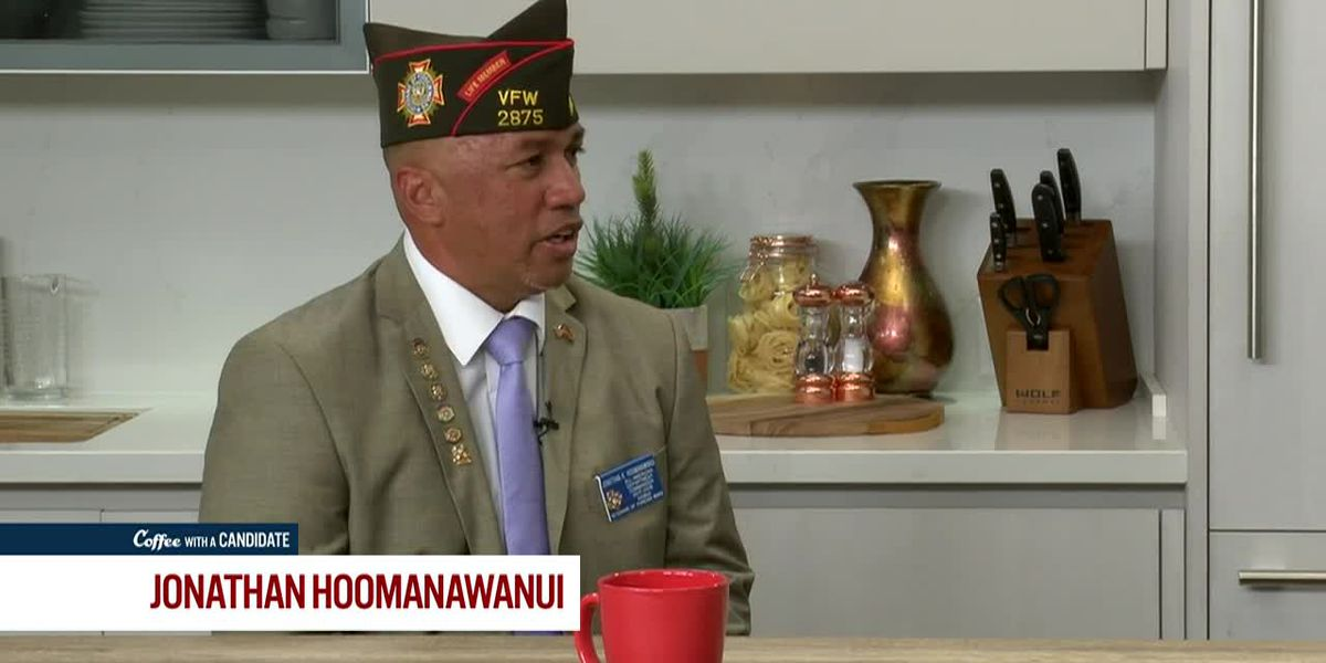 Coffee with a Candidate: Jonathan Hoomanawanui, Aloha Aina Party Candidate for Congress