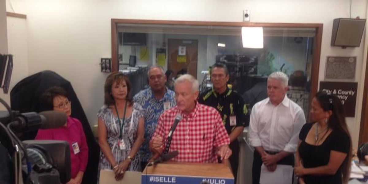 Caldwell tells non emergency personnel to stay home