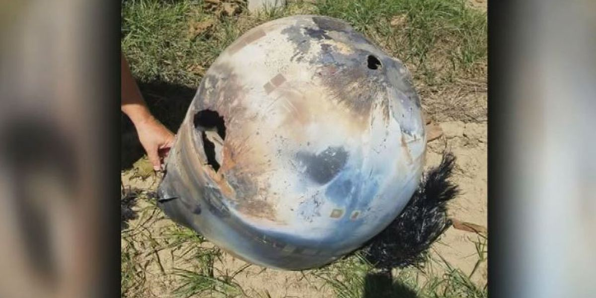 Mystery of strange space junk found on CA farm is solved