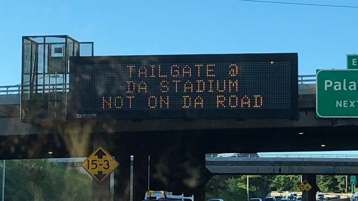 Here's the state's latest traffic safety message to drivers