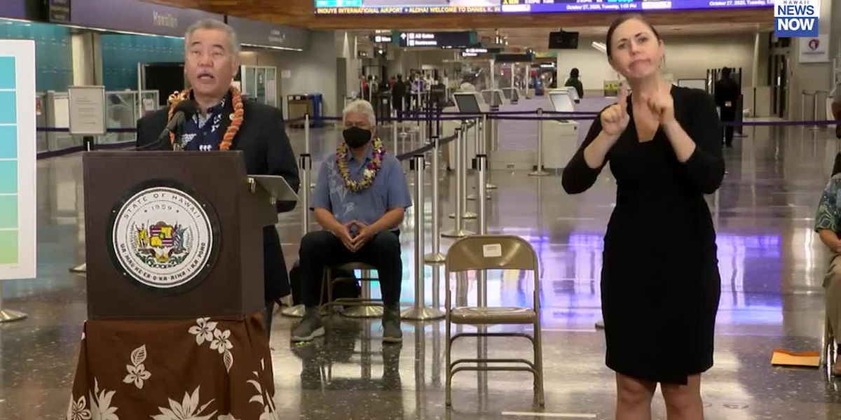 Ige: Hawaii to start welcoming Japanese visitors back with pre-travel testing in November