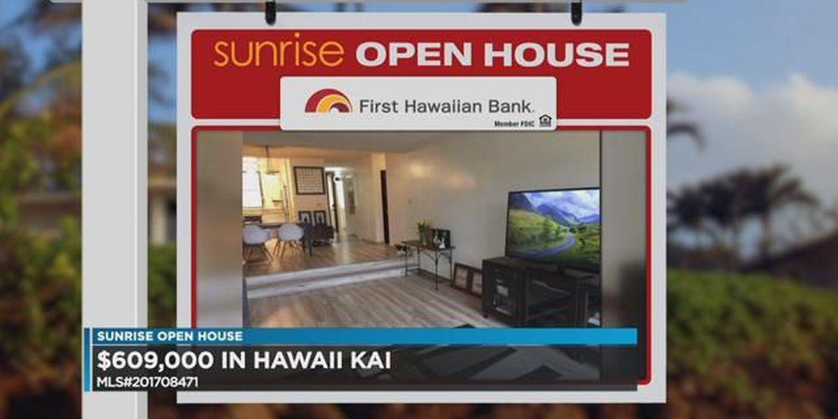 Sunrise Open House: Hawaii Kai Drive