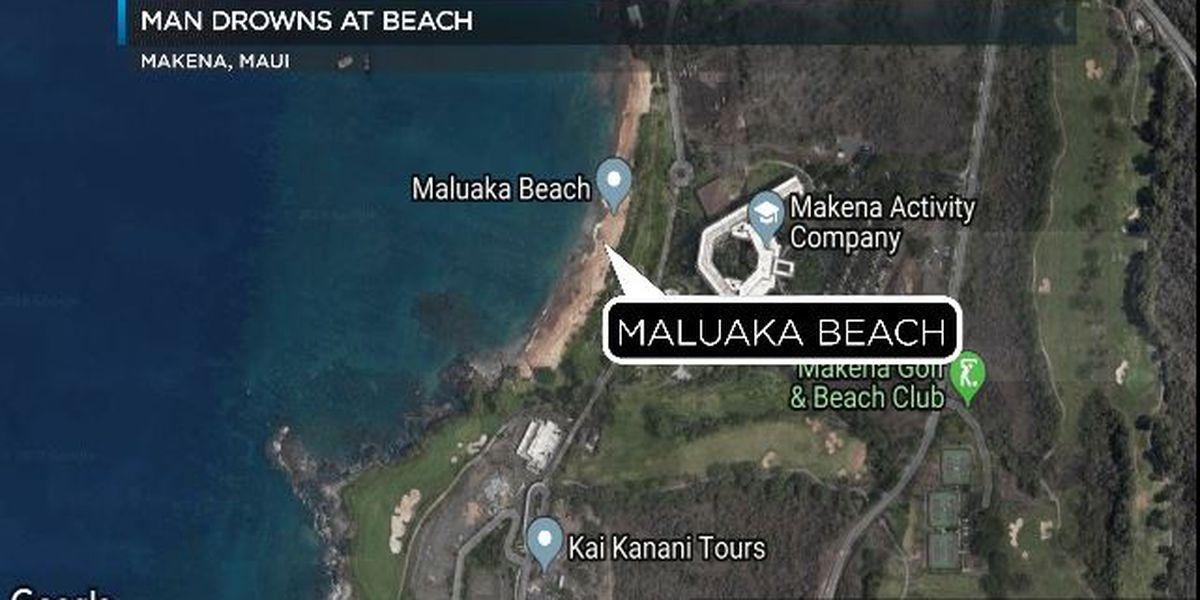 Elderly California man dies while snorkeling at a Maui beach