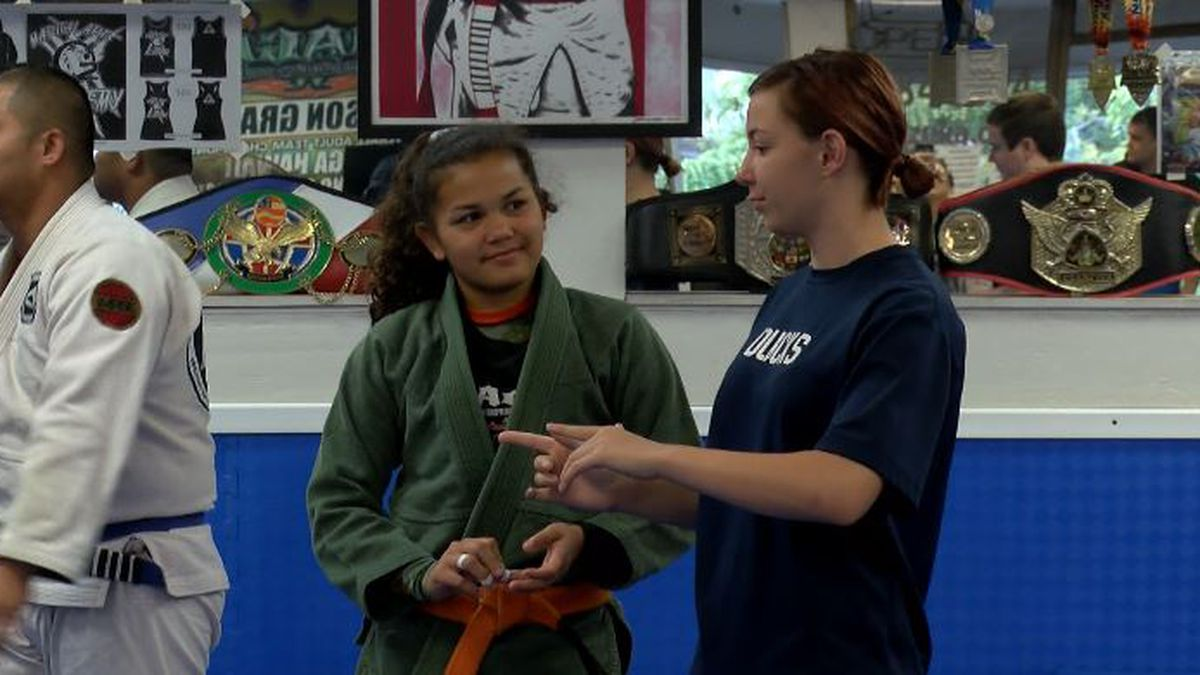 Members of local Jujitsu community come together to give back