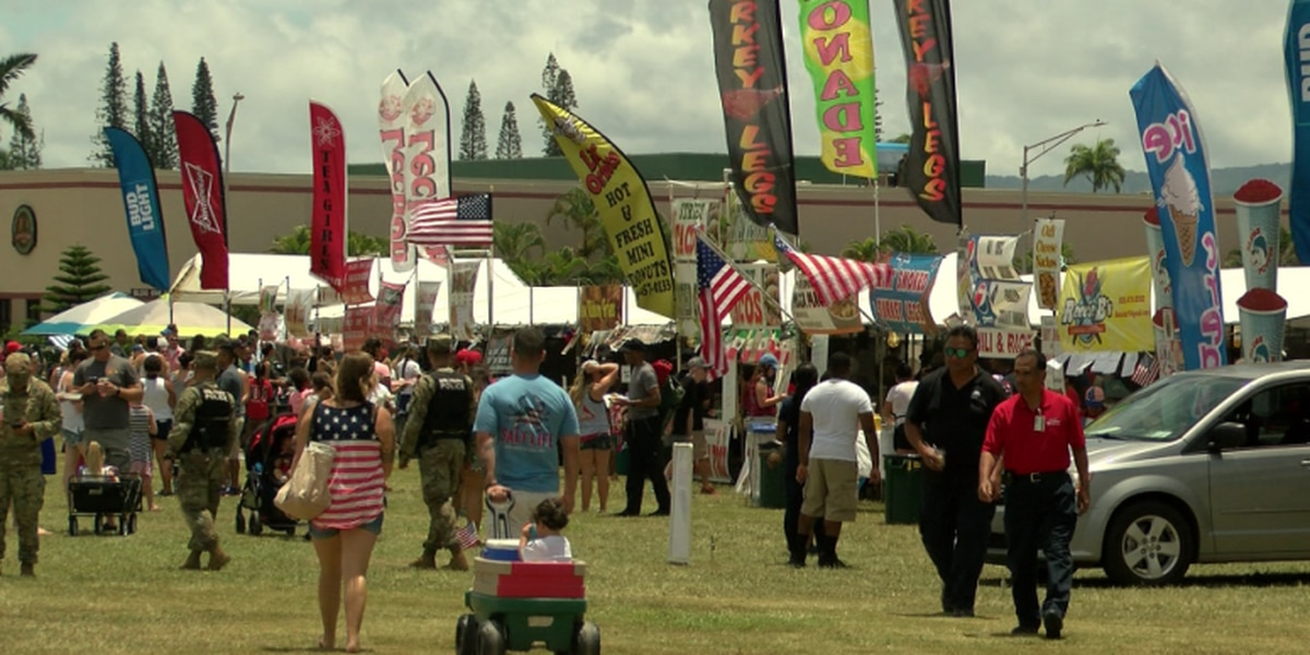 Schofield Barracks opens its gates to the public to celebrate July Fourth